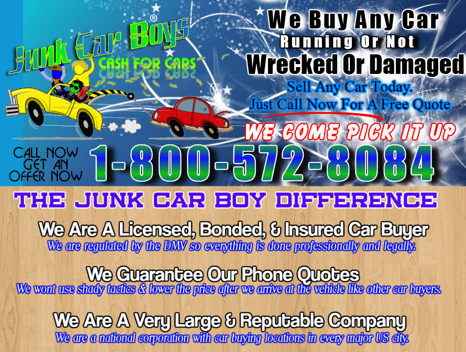 Cash For Cars Jacksonville FL - We Buy/Sell Junk Damaged Wrecked ...